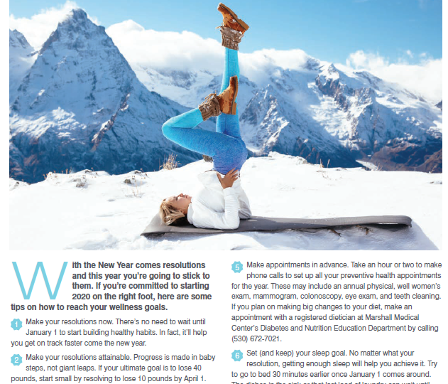 Winter Wellness: Resolve to Take Care of You